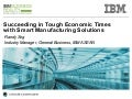 Succeeding in Tough Economic Times with Smart Manufacturing Solutions
