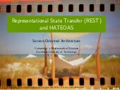 Representational State Transfer (REST) and HATEOAS