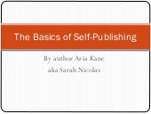 The Basics of Self-Publishing