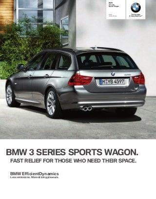 2012 - 3 series wagon
