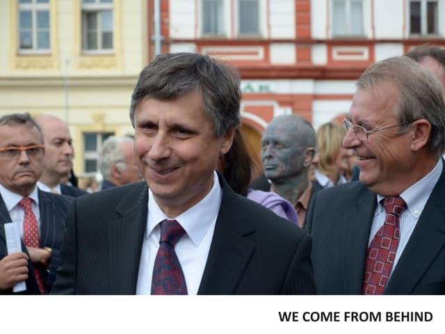 Vojta Bednář: Vladimír Franz Prezidentem