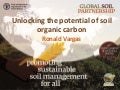 Unlocking the potential of soil organic carbon - Ronald Vargas