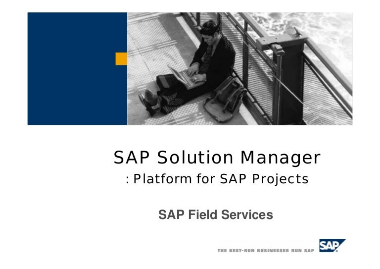 Sap solution manager sciox Choice Image
