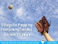 3 Steps for Prepping Your Giving Tuesday Content Strategy