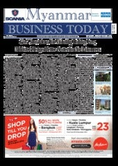 Myanmar Business Today - Vol 2, Issue 32