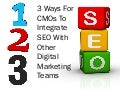 3 Ways For CMOs To Integrate SEO With Other Digital Marketing Teams