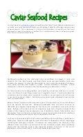 4.13.17 caviar recipes