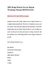 dodge dakota repair manual 1990 2010