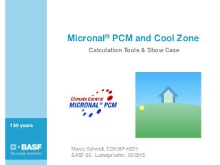 Micronal® PCM and Cool Zone - BASF #PSBPcomfort