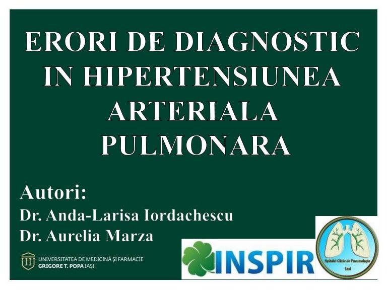 Hipertensiune arteriala pulmonara
