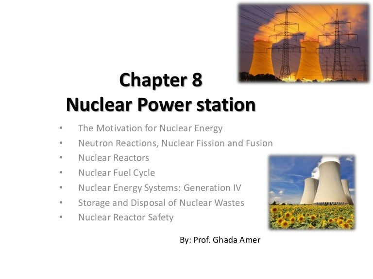 reaction paper about nuclear power First of all, the use of nuclear energy affects crops and food it limits the crops farmers can give to companies because the crops can be turned into a form of energy called ethanol, which can be produced with corn and sometimes sugarcane (the seven myths of energy independence.