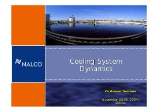 4 cooling system dynamics