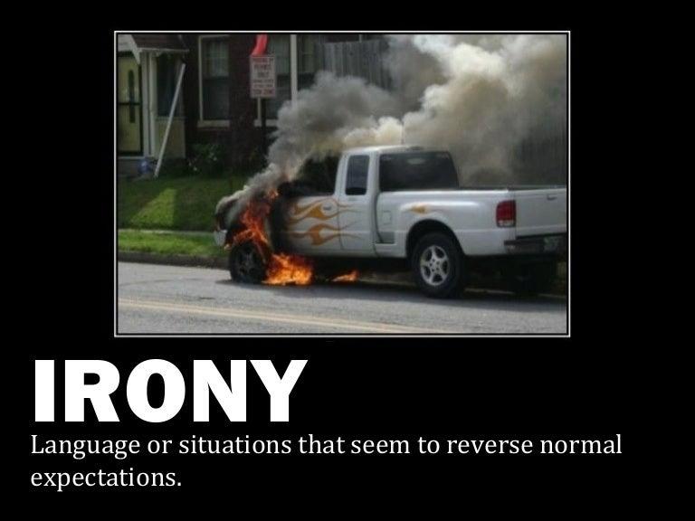 4 Irony Verbal Situational Dramatic