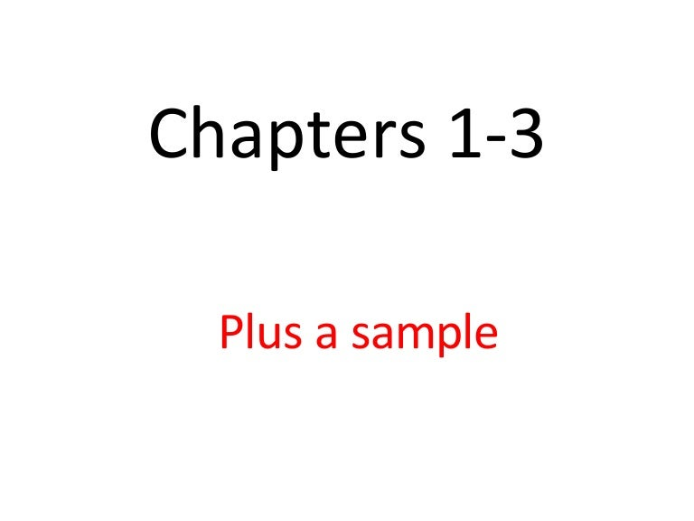 chapter 1 of thesis A suggested format for chapter 1 of the dissertation introduction/background  a general overview of the area or issue from which the problem will be drawn and which.