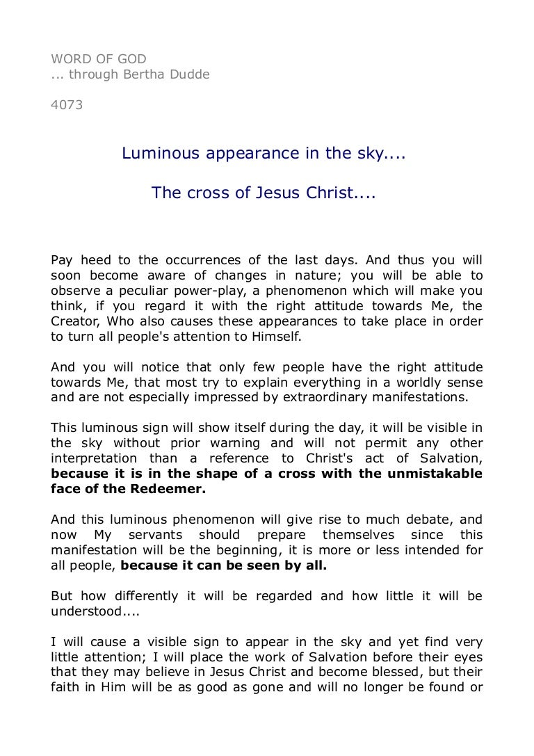 Great 4073 Luminous Appearance In The Sky.... The Cross Of Jesus Christ. Ideas