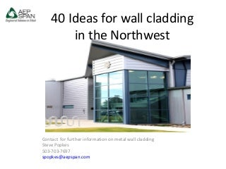 40 ideas for wall cladding nw