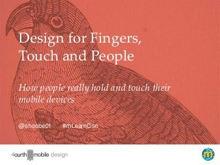 How People Really Hold and Touch (their Phones)