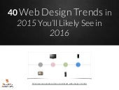 40 web design trends in 2015