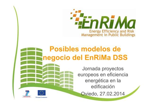 "Ponencia Jornada técnica ""Proyectos europeos en eficiencia energética en edificación"""