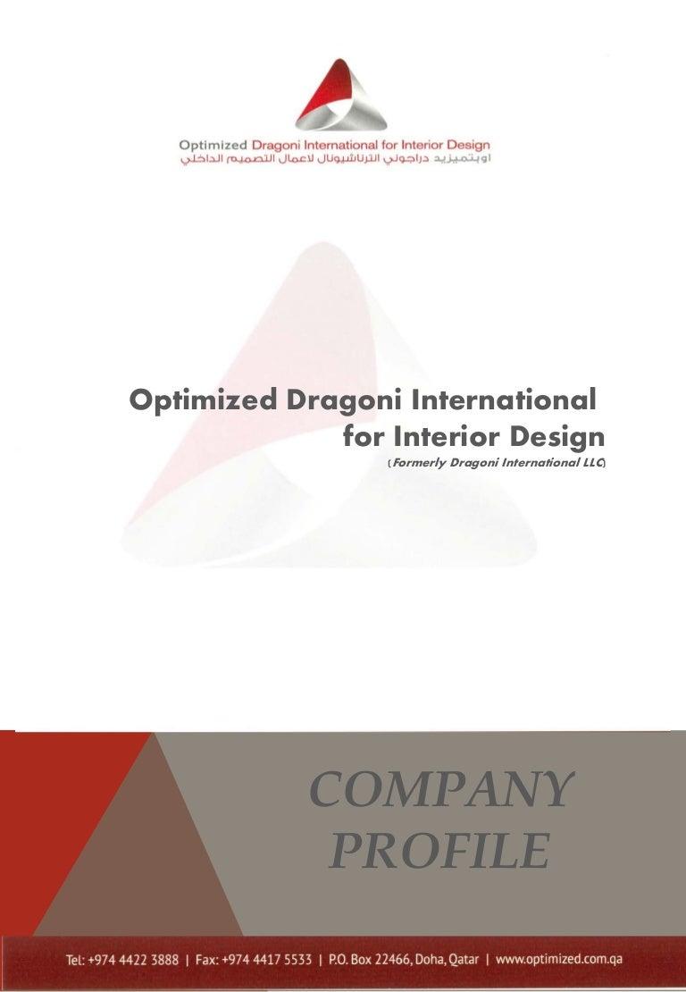 Optimized Dragoni Company Profile YR2015
