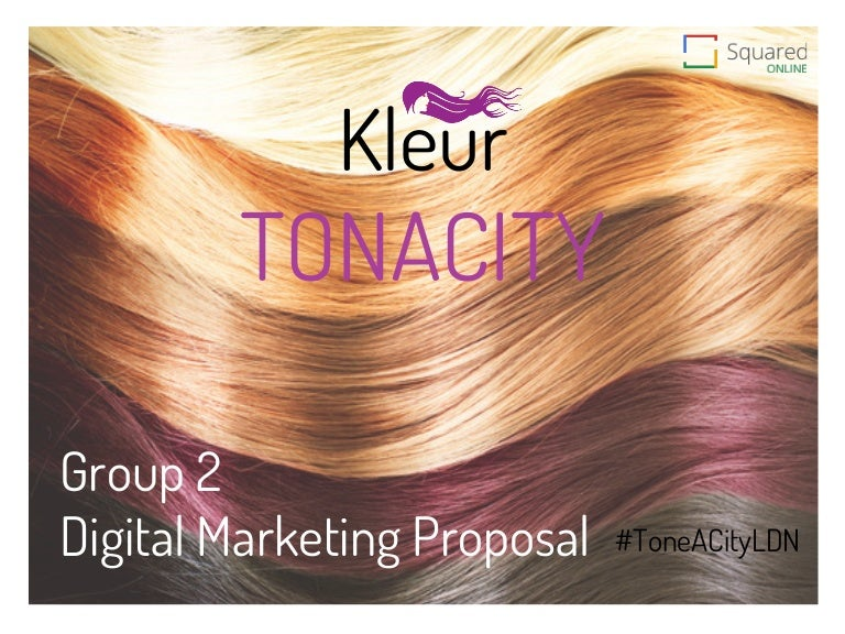 Module group kleur tonacity digital marketing proposal