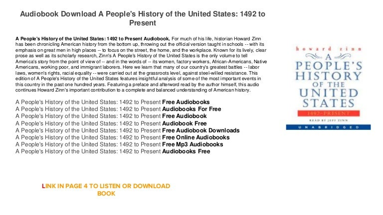analysis of a peoples history of the A people's history of the united states chapter 1: columbus, the indians, and human progress summary & analysis from litcharts | the creators of sparknotes.