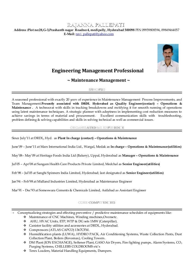 new resume 2016