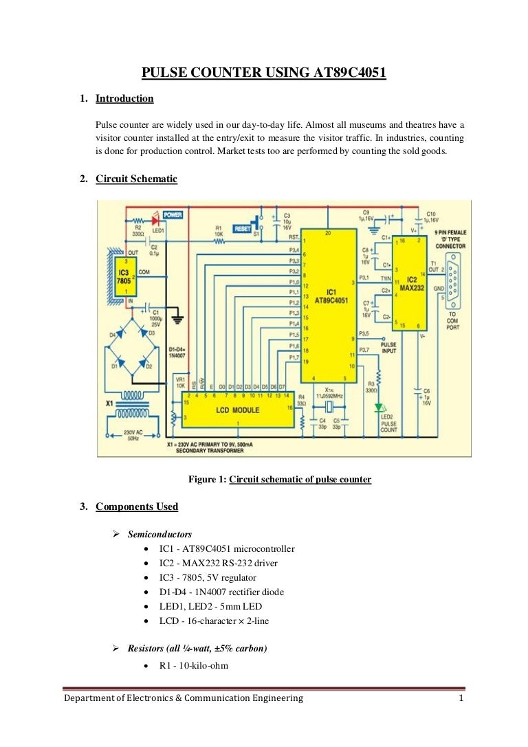 5 Final Project Report Variable Power Supply Using 7805