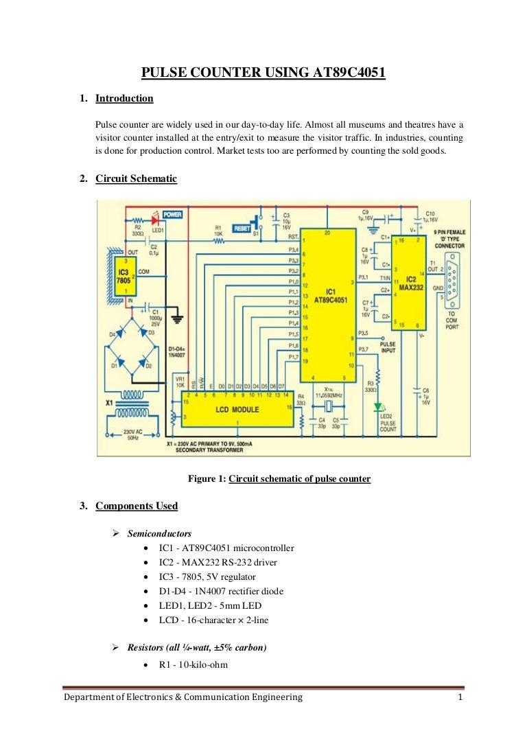 5 Final Project Report Max232 Pin Diagram