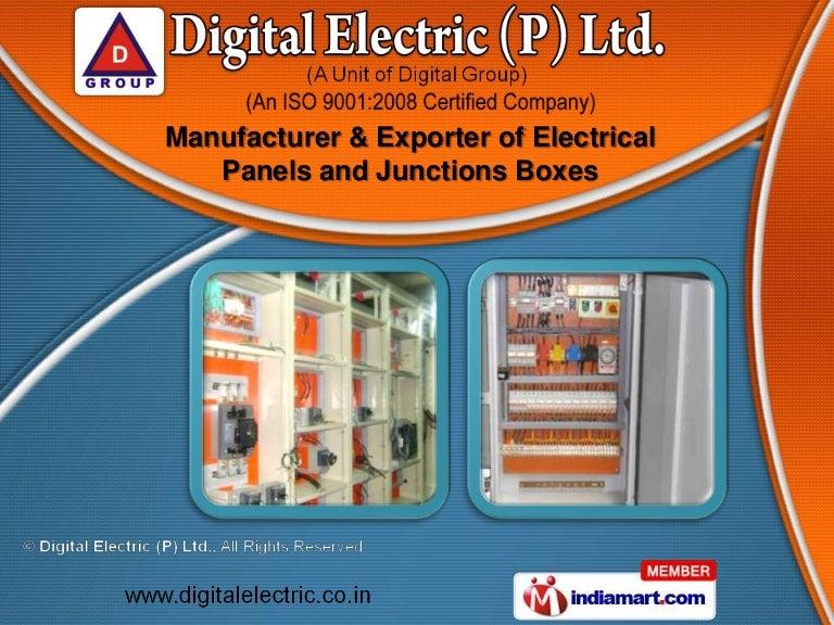 Electrical Control Panels by Digital Electric (P) Ltd, Faridabad