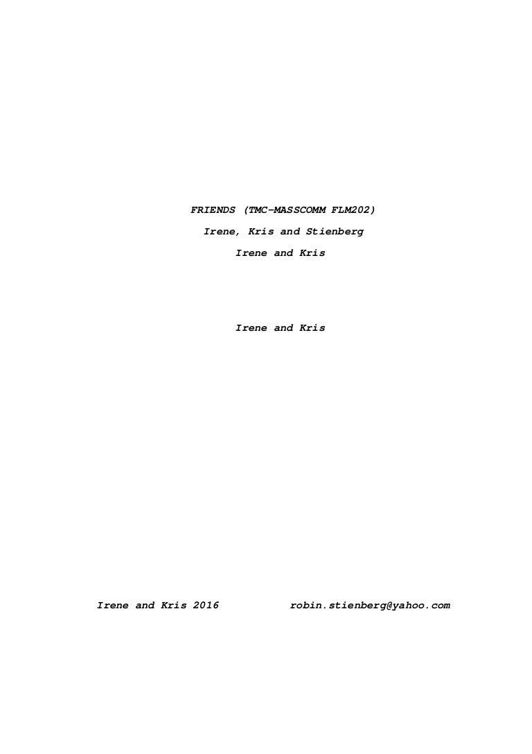 Script Friends (1)