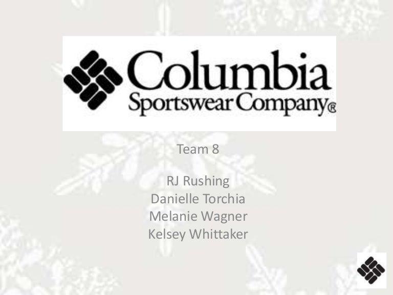 Columbia Sportswear Branding Project ea9348213c0c