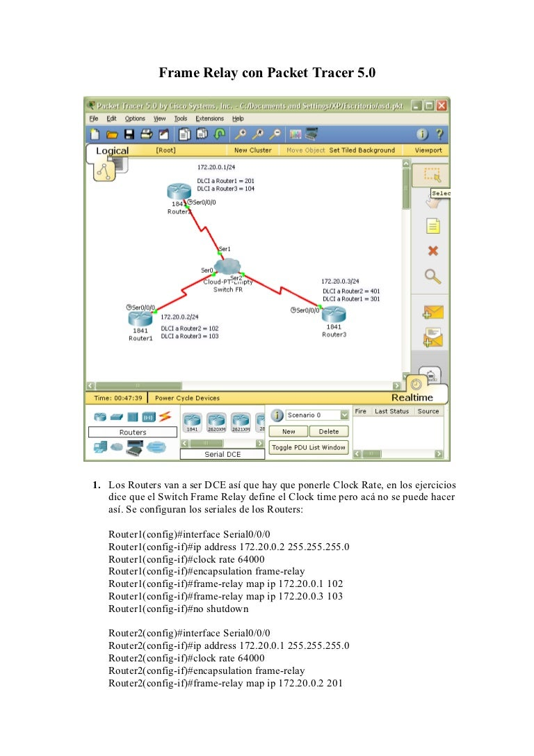 Packet Tracer Frame Relay - Page 6 - Frame Design & Reviews ✓