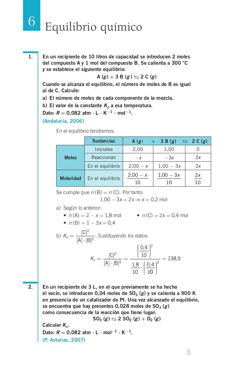 45916215 quimica-ejercicios-resueltos-soluciones-2º