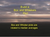 4[.5a Box Whiskers