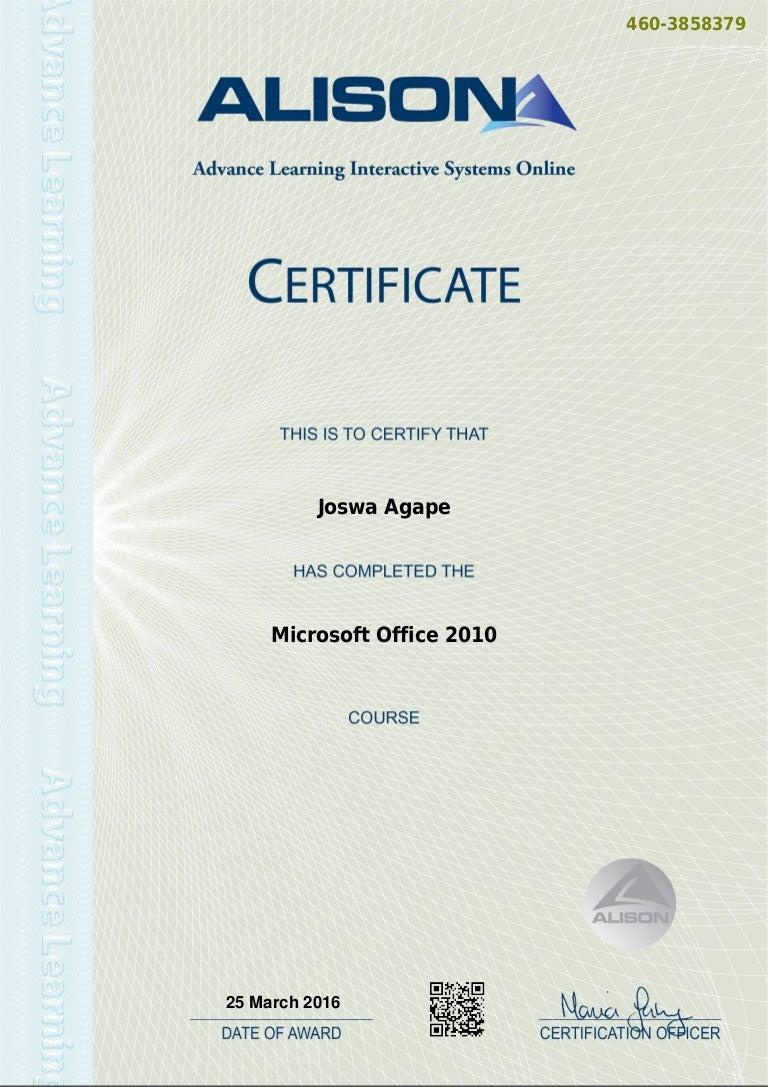 Office Certificates Yelomphonecompany