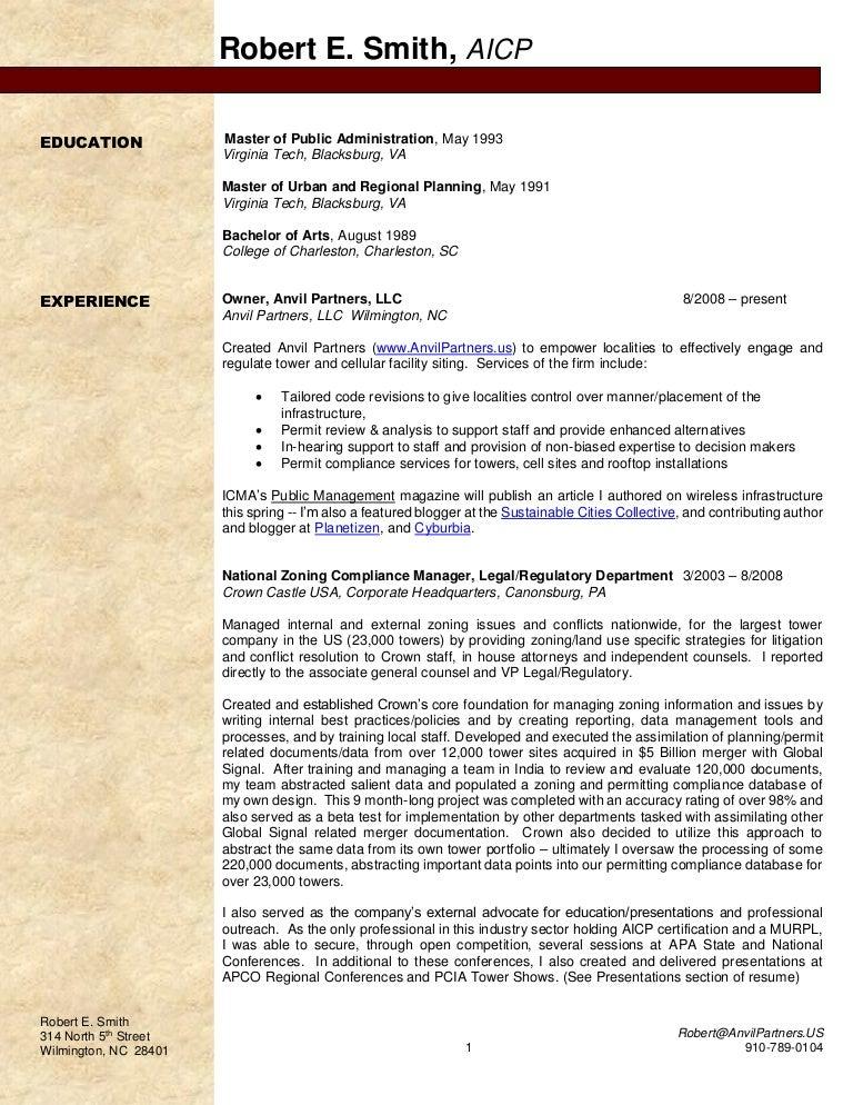 older resume