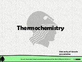 Chemical Reactions: Thermochemistry