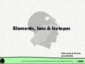 Chemical Structure: Structure of Matter. Elements, Ions & Isotopes
