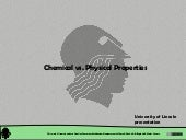 Chemical and Physical Properties: Chemical vs. Physical Properties