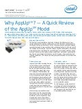 Why AppUp? A Quick Review of the AppUp Model