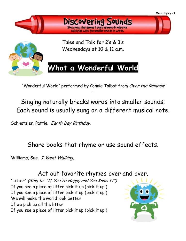 2010 4 What A Wonderful World Phono
