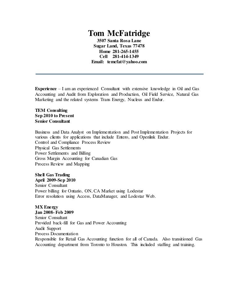 TOM MCFATRIDGE Resume.doc