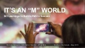 It's an 'M' World - Mobifest Conference 2015 - Bucharest, May 2015 (1)