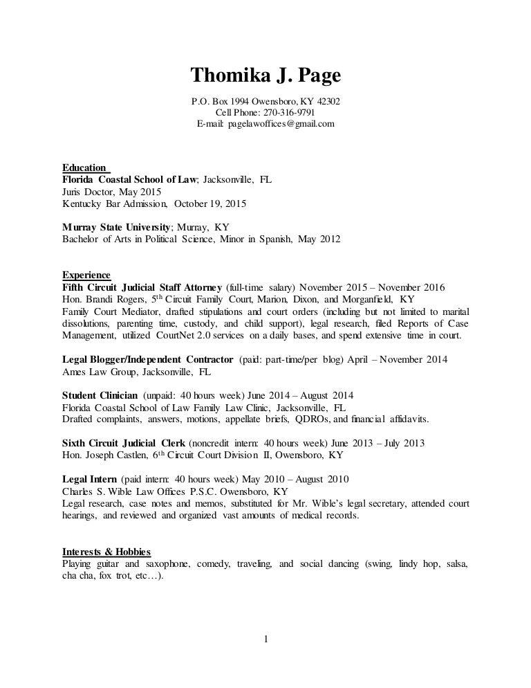 2016 Resume