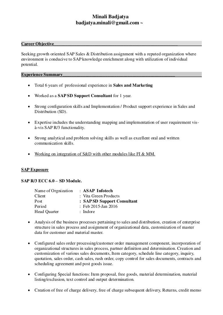 Career Objective For Sales Resume Career Objective Examples
