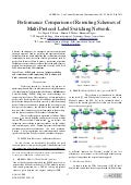 Performance Comparison of Rerouting Schemes of Multi Protocol Label Switching Network