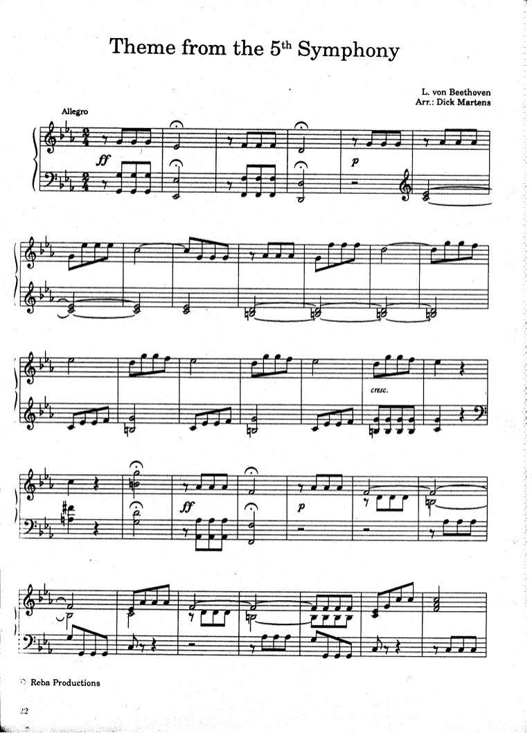 5Th Symphony 49 theme-from-the-5th-symphony