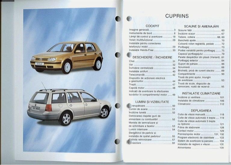 Vw golf 4 gti 20v service manual pdf download full online.