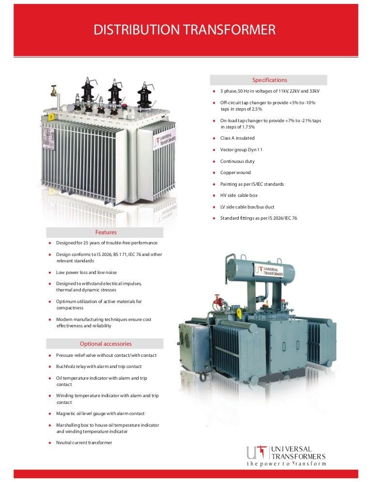 Transformer Details Pdf